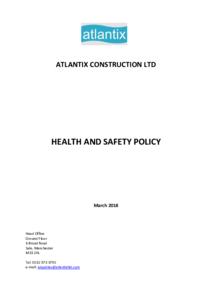 Thumbnail for Heath & Safety